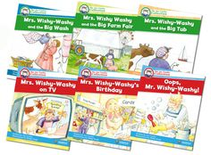 Using Mrs. Wishy-Washy to Teach Character and Setting
