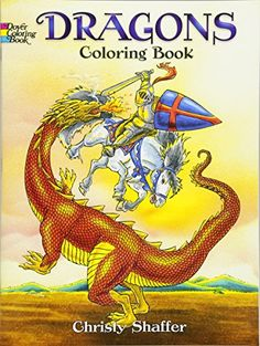 From 0.18 Dragons Coloring Book (dover Coloring Books)