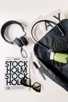 Fjällräven Backpack #kankenblack #kånken available from Fjällräven's website from August 1st 2016