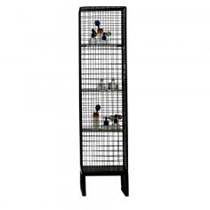Narrow Wire Mesh Shelving