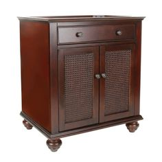 $368  FEBO Bimini 30 in. Vanity Cabinet Only in Espresso-F10AE0022A at The Home Depot