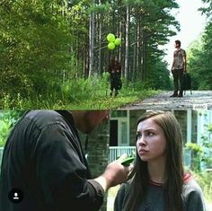 Negan should knock this man on his ass - TWD