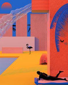 Colorful Illustrations by Tishk Barzanji – Fubiz Media