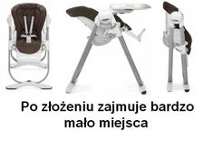 High chair CHICCO Polly Magic 2in1