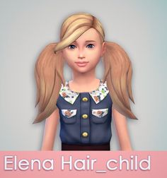As requested, elena hair for kids DOWNLOAD- just... - Something Like That....