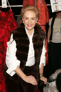 2006 - The Cut Mature Fashion, Over 50 Womens Fashion, 50 Fashion, Fashion Outfits, Ch Carolina Herrera, Advanced Style, Signature Look, Aging Gracefully, Jumpsuits For Women