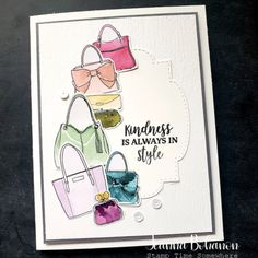 Color Challenge - Stampin' Up! Best Dressed Suite Style (Stamp Time Somewhere) Dress Card, Borders For Paper, Fun Challenges, Cards For Friends, Card Maker, Diy Cards, Homemade Cards, Dress Suits, Stampin Up Cards