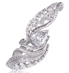 De Beers Flight ring, from the latest high jewellery collection featuring spectacular diamonds.