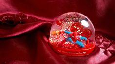 Ultimate Spiderman Marvel Comics Snow Globe Water Dome 2017 Valentine's Day New #Marvel