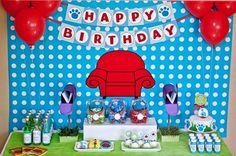 Items similar to Blues Clues Printable Birthday Party Collection - Fresh Chick Designs on Etsy Blue Birthday Parties, Third Birthday, Birthday Party Themes, Boy Birthday, Birthday Ideas, Birthday Table, Clue Themed Parties, Blue's Clues, Clue Party