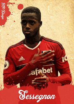 Ryan Sessegnon - Fulham FC Fulham Fc, Movie Posters, Movies, Design, Soccer Players, Film Poster, Films, Movie, Film