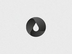 Creative Logo, Identity, Oil, and Symbol image ideas & inspiration on Designspiration Gfx Design, Design Ios, Flat Design, Icon Design, Logo Minimalista, Water Logo, Water Drop Logo, 2 Logo, Great Logos