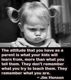 Parent attitude quote via www.MarcandAngel.com