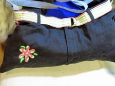 Have Any Old Jeans? (Two-Toned Purse Tutorial)