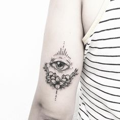 Eye tattoo @Sollefe