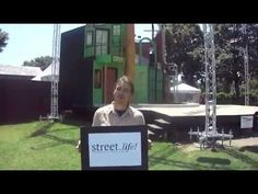 """Street.life! Take 20: Ben Anderson, Executive Director for the Prescott Park Arts Festival, says, """"Street.life! is going to be a great celebration of everything Portsmouth has to offer!"""""""