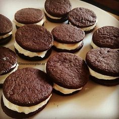 """Fitness """"oreo"""" sušenky 