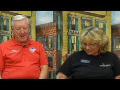 Marty Zickert veteran council of IRC Vero beach Airshow & Cissy Sumner D...