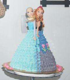 Frozen #Frozen #Cake #Gelatina #Cupcake #Elsa #Anna