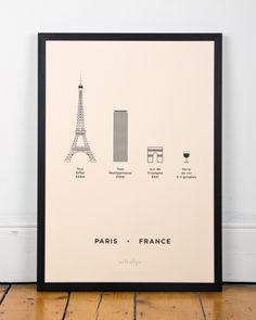 Paris Screen Print by me&him&you