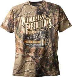 CABELAS WILDERNESS T- SHIRT REALTREE AP LARGE TAGLESS 100% COTTON N.I.P. $19.99