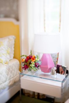 How to Style Your Nightstand... inspiration and best items for your bedside table