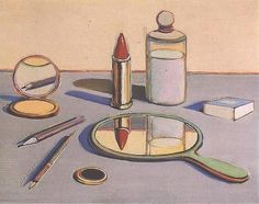 Cosmetics, 1964 - Art by Wayne Thiebaud.