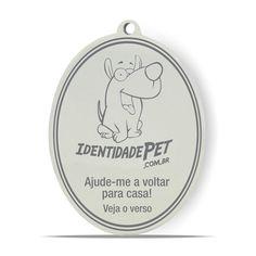 Medalha Identidade Pet para Cachorro e Gato Furacão Pet. #medalha #medalhacachorro #medalhagato #identidadepet #filhode4patas #maedepet #maedecachorro #paidecachorro #petshop@petshoponline #petmeupet #desconto #promocao