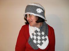 Ravelry: Criss Cross Crochet Scarf Set pattern by Hazel Furst