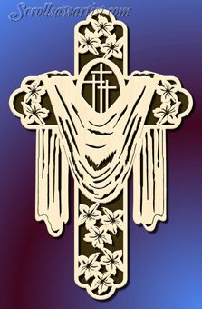 cross scroll saw patterns free | Scroll Saw Patterns :: Religious  Inspirational :: Other crosses ...