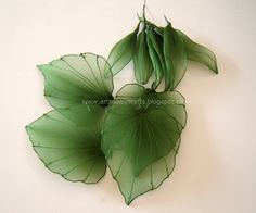 pantyhose flowers | Art Hobby Crafts: Stocking flowers - Asiatic Lily and Calla Lily