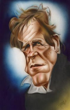 Nick Nolte Caricature Paul Roustan has a very unique style to his . Caricature Drawing, Comic Drawing, Drawing Art, Funny Caricatures, Celebrity Caricatures, Cartoon Faces, Funny Faces, Portraits, Celebrity Pictures