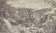 Bisson frères Ascension of Mont-Blanc 1860 Iconic Photos, French Photographers, Lombok, Landscape Photography, Mount Rushmore, Pictures, Travel, Outdoor, Icons