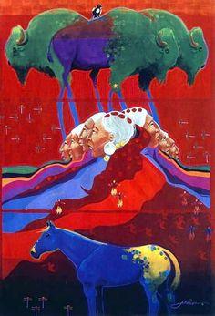 Seven Grandmothers - Artist: Jim Nelson (not Native)
