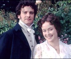 Pride and Prejudice 1995 Colin firth and Jennifer Ehle