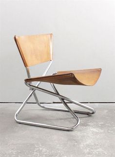 """Z-Down"" Chair by Erik Magnussen"