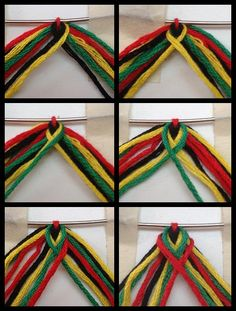 Fishtail friendship bracelet tutorial  #friendship #bracelet #bracelets #tutorial #braceletbook #wristband #craft #crafts #handmade #homemade #fishtail #braid