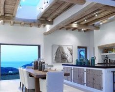 A white house in Ibiza, work by Blackstad design Home Interior Design, Exterior Design, Interior And Exterior, Ibiza, Futuristic Home, Küchen Design, Architecture, My Dream Home, Beautiful Homes