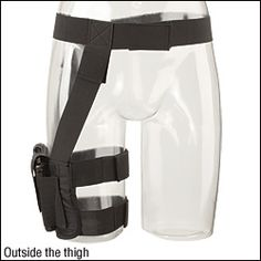 NRA Thigh Holster- yup. Looks like the most comfy one I've seen so far.