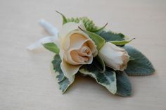 Maybe spray roses will work for corsages and boutineers? What do we think?