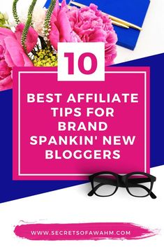 Ten BEST affiliate marketing tips for brand new bloggers and the must use tools you need to skyrocket your work from home income. Affiliate Marketing   Affiliate Tips   Affiliate Marketing Strategy   Affiliate Tips for Beginners   Make Money From Home   Work From Home   Passive Income #affiliate #makemoney #workfromhome #startablog #wahm #income #passiveincome #secretsofawahm