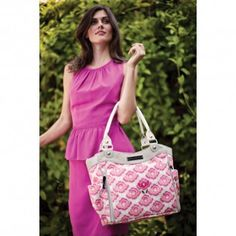 City Carryall in Flowering Firenze - Carryalls - Bags