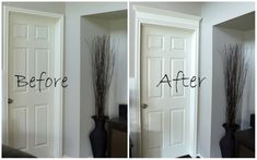 DIY door crown molding