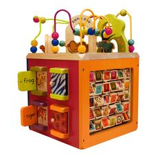 ''B'' Toys Zany Zoo. We love it! Paisley needs this for her birthday!