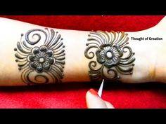 Unique Bangle Style Mehndi Design for Hands Mehndi Designs For Hands, Mehandi Designs, Mehndi Images, Henna Patterns, Mehendi, Eyeliner, Bangles, Mehndi Style, Tattoos