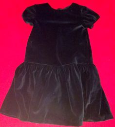 Black velvet low waist line and long skirt. Add your sash at waist for elegant events, Details w hand hemmed taped skirt for smooth flat finish...extra swoosh