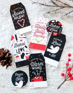 Free Personalized Holiday Gift Tags. Free Personalized Holiday Gift Tags. This printable template is perfect for teacher and kids gift ideas! Simple, editable, and fun.