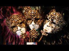 Mascaras del Carnaval de Venecia. -