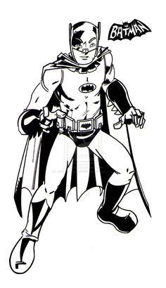 Batman 66 by wonderfully-twisted on DeviantArt