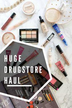 A La Gray | Enormous Drugstore Makeup Haul: New Releases  drugstore makeup